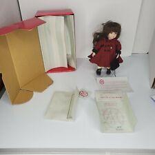 """Marie Osmond Doll Georgianna Tiny Tot  8"""" Doll  COA"""