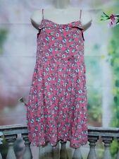 Lauren Conrad size 14 light coral birds w/floral dress