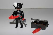 Playmobil Bandit Figure with Chest full of Gold TNT and Accessories