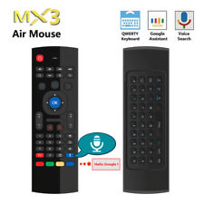 Google Voice Control RF Air Mouse Keyboard Remote for PC Android Smart TV Box