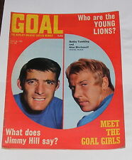 GOAL FOOTBALL MAGAZINE NO.102 JULY 18TH 1970 - MARTIN CHIVERS OF TOTTENHAM