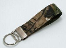 Real Tree Camo Camouflage Key Chain Ring Fob Handmade Custom Designer