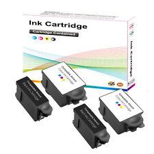 4 Compatible Advent Ink Cartridges 2 Black ABK10 + 2 Colour ACRL10