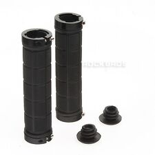 RockBros Bicycle MTB Grips Fixed Gear Fixie Lock-on Grips Rubber Black