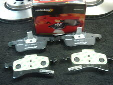 Front Brake Pads With Acoustic Wear Warning Replacement Spare Mintex MDB2633