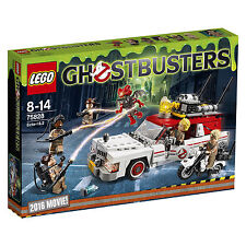 LEGO 75828 Ghostbusters - Ecto-1 & 2 mit Auto / Motorrad & 6 Figuren Neuware