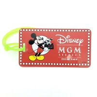 MGM Hollywood Studios vintage theme park luggage tag - Disney WDW Mickey Mouse