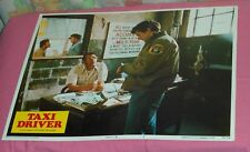 original TAXI DRIVER lobby card Robert DeNiro