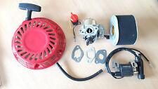BOBINA di Avviamento Rinculo Carb Guarnizioni Filtro Si Adatta Honda Motore Generatore Gx160 5.5HP