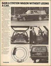 1972 Vintage ad for Volvo 145E Station Wagon retro car Photo Interior  053017