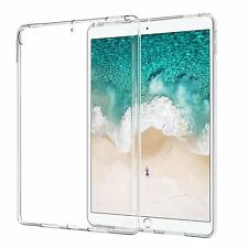 """For iPad 9.7"""" & Pro 10.5"""" 12.9"""" Back Case TPU Rubber Shockproof Soft Cover Clear"""