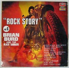 Pochette Moto 33 tours Brian Burd and The Black Sabbath