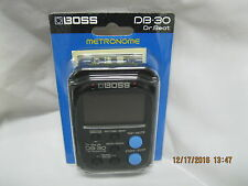 boss db 30 dr beat metronome dr beats beat variations and clave beats timmer