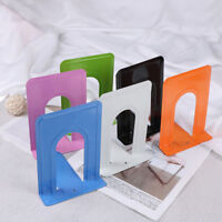 Colourful Heavy Duty Metal Bookends Book Ends Office Stationery NTHN
