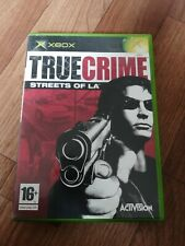 True Crime: Streets of L.A. (Microsoft Xbox, 2003). FREE POST