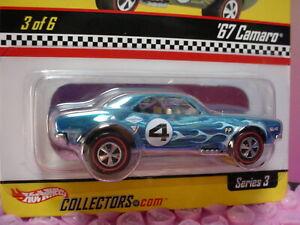 RLC Hot Wheels Neo-Classics '67 CAMARO ∞ blue;redline;mooneyes∞#1970 ∞ SERIES 3