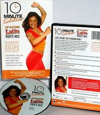 10 Minute Solution: Fat Blasting Latin Dance Mix NEW! DVD, FREE SHIP CARDIO,TONE