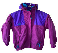 Vintage 90s Columbia Vamoose Womens Large Purple Maroon 3 In 1 Snow Jacket