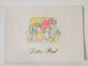 Vintage Sanrio My Melody Letter Pad, 2 Interior Notepads, Made In Japan 1976