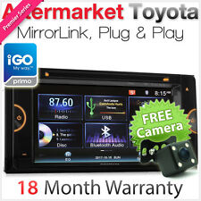 Car DVD GPS Player For Toyota Kluger Tarago Rukus Echo Estima Stereo USB Radio
