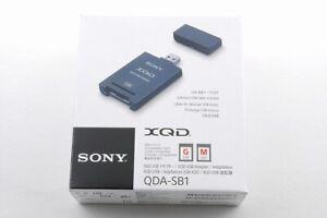 [NEW] Sony XQD USB Adapter QDA-SB1 J Memory Card Reader USB3.1from Japan