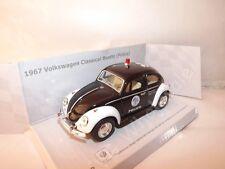 Kinsmart 1967 VOLKSWAGEN Classic Beetle Police Opening Doors V Good Unboxed