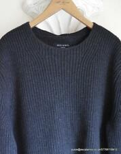 BNWT Mens All Saints Karser Crew Wool/Cotton Jumper/Sweater Black Size S £98