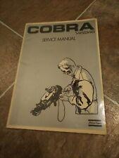 Atlas Copco Cobra 148 248 Drill Breaker Service Repair Manual