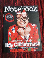 THE SUNDAY MIRROR NOTEBOOK  MAGAZINE UK - 21 DEC 2014- RYLAN CLARK - ALAN CARR