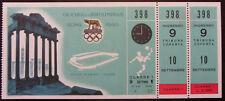 ORIGiNAL OLYMPIC GAMES TICKET ROMA 1960-FOOTBALL-FINAL YUGOSLAVIA vs DENMARK