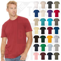 Next Level Premium Crew Cotton T-Shirt Mens Soft Fitted Basic Plain Tee - 3600