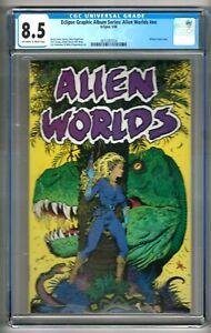 Eclipse Graphic Album Series: Alien Worlds #nn (1988) CGC 8.5  OW/W Pgs.  Jones