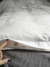Linen DUVET COVER with hidden buttons closure queen duvet cover linen bedding