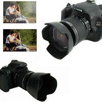 EW-60CII +ET-60 II Dedicated Lens Hood Set for CANON EF 18-55mm & 55-250mm