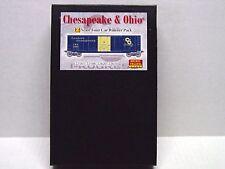MICRO-TRAINS LINE Z SCALE RUNNER PK 50' BOX CAR CHESAPEAKE & OHIO  99400050