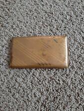 New listing Vintage Elgin Gold Toned Cigarette Holder-Striped Pattern-Marked-Made in Usa