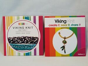 Lot of 2 x JewelleryMaker Viking Knit DVD'S - New !