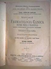 ARNALDO CANTANI - MANUALE DI FARMACOLOGIA CLINICA VOL. V - CASA ED. VALLARDI