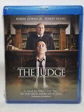 The Judge (Blu-ray, 2015, 2-Disc Set, Includes Digital Copy Ultraviolet) NEW