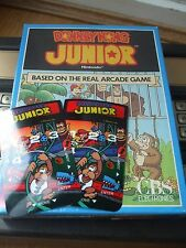 NEW DONKEY KONG JUNIOR JR  ORPHAN OVERLAYS INTELLIVISION GAME FLASHBACK