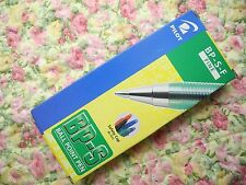 12 pcs PILOT BP-S  0.7mm Fine ball point pen with cap Green(Japan)
