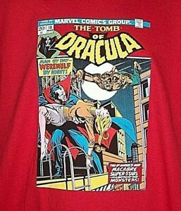 Tomb of Dracula Comic #18 Mens Unisex T-Shirt- Available in Sm to 2x -new