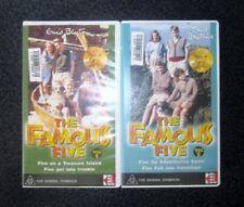 2 SCARCE VIDEOS ~ THE FAMOUS FIVE VOL 1 & 2 Enid Blyton 4 STORIES