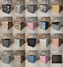 Neue IKEA Dröna Boxen für Kallax Regal Aufbewahrungsbox schwarz weiß grau rosa