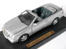 Mercedes A 208 CLK Klasse Cabriolet silber silver metallic, JMV in 1:18 boxed!
