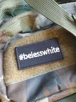#BeLessWhite VELCRO® BRAND FASTENER PATCH