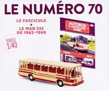 1/43 IXO - AUTOCAR / AUTOBUS / MAN 535 1962/1969