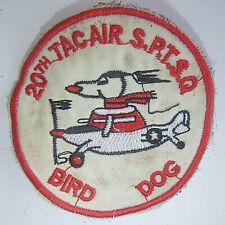 SNOOPY PATCH - BIRD DOG RECON - CESSNA 0-1 - USAF 20th TASS - Vietnam War - 1515