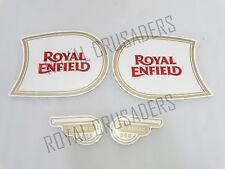 NEW ROYAL ENFIELD CLASSIC 350 FUEL TANK AND TOOL BOX STICKER SET