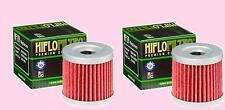 2x HF139 Oil Filter for Suzuki LT LTR    LT-R450  Quadracer  2006-09